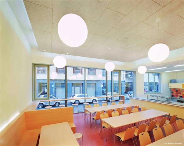 Planungsbüro Drobka: Beratung, Planung und Fachbauleitung für Heizungsanlagen, Lüftungsanlagen, Klimaanlagen und sanitäre Anlagen. Referenz: Freie Waldorfschule Berlin-Mitte