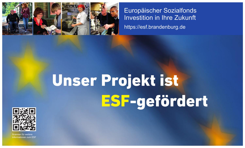 """Das Planungsbüro Drobka nimmt am Projekt """"E-Learning BIM Basiswissen und Führungskräftetraining"""" teil, gefördert durch den Europäischen Sozialfonds (ESF) und das Land Brandenburg."""