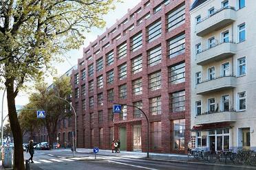 Neubau eines Bürogebäudes in Berlin. Unsere Aufgaben: Planung von Heizungs-, Lüftungs-, Sanitäranlagen, Klimatisierung und MSR nach Energiesparverordnung.
